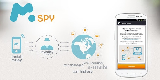 mSpy app for android