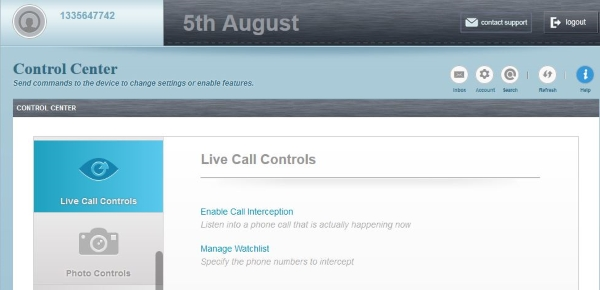 listen to live calls with flexispy